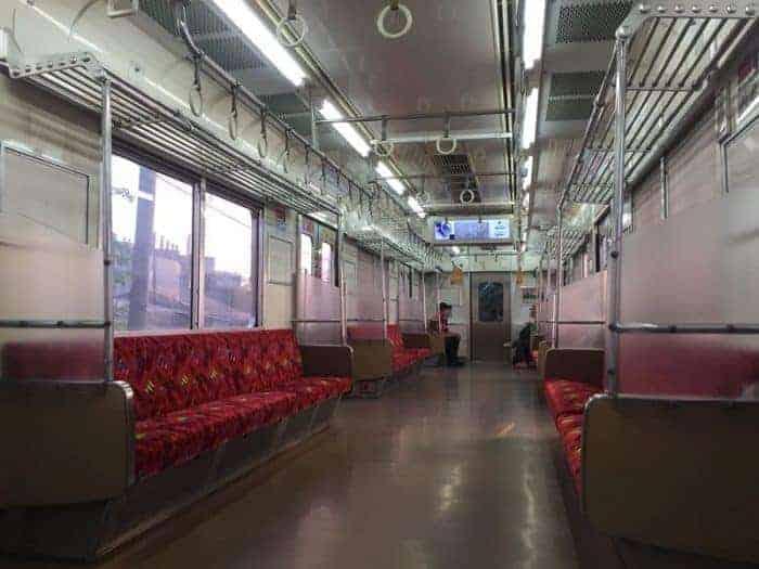 Asieknya Naik Kereta Commuterline
