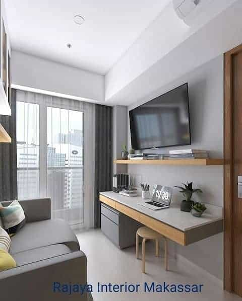 4 Empat Tips ala Rajaya Interior Makassar Furniture Custom untuk Ruangan Terbatas 1
