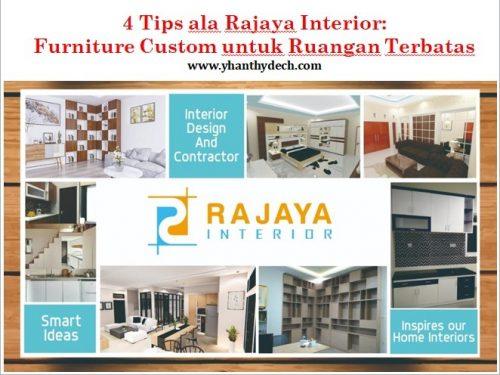 4 Tips ala Rajaya Interior Makassar, Furniture Custom untuk Ruangan Terbatas (3)