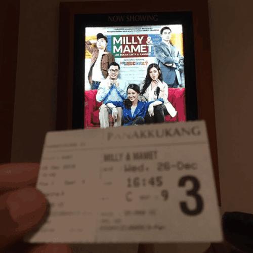 milly dan mamet movie